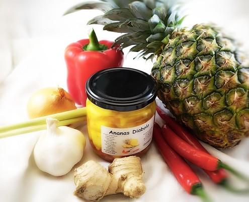 Ananas Diabolo